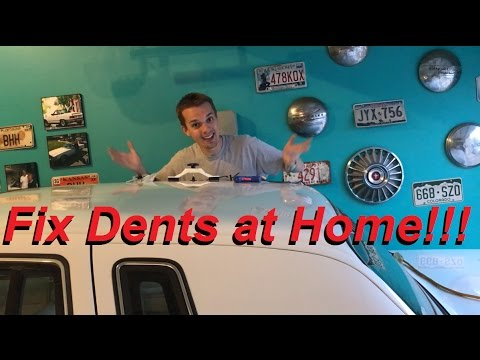 Do Cheap DIY Paintless Dent Repair Kits Work???  And FIRST AMA QUESTIONS ANSWERED