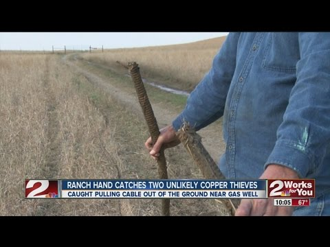 Ranch Hand Catches Copper Thieves