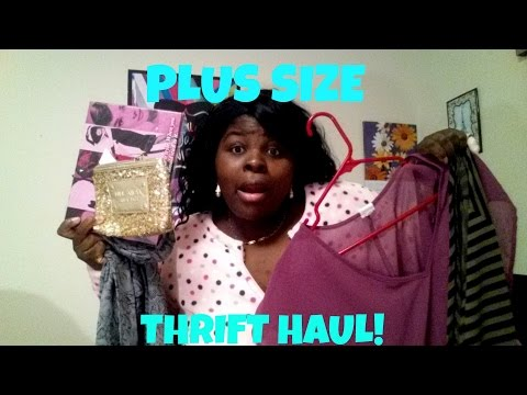 Plus Size Thrift Haul | Sweaters, Leggings & MORE!
