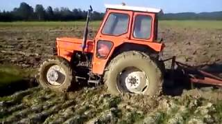 ZETOR 7245 I FIAT 540 Oranje 2014 IN ACTION