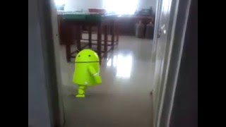 ANDROID BOT DANCE IN LAB