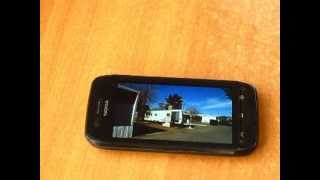 Test. Online video on Symbian Belle FP2, Nokia 603