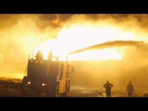 Taliban insurgents set oil tankers ablaze in Afghanistan