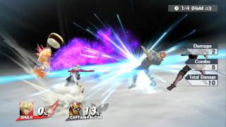 Shulk's Final Smash in Slow-Mo