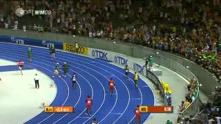 Usain Bolt 9.58 100m New World Record Berlin [HQ] 2012
