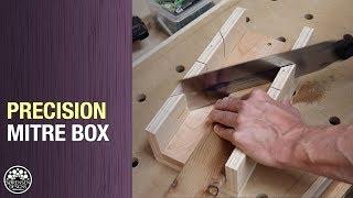 Don't Buy A Mitre Saw // Precision Miter Box