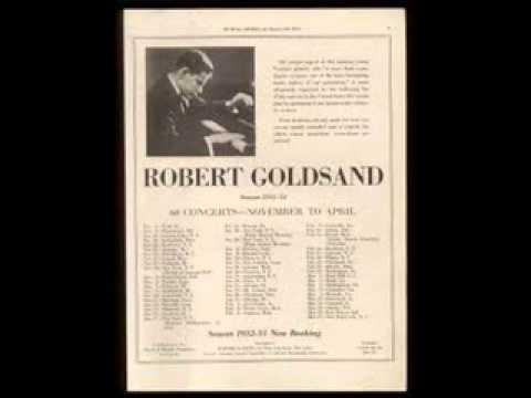 Robert Goldsand plays Paganini-Liszt