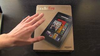 NEW Kindle Fire From Amazon_ Unboxing