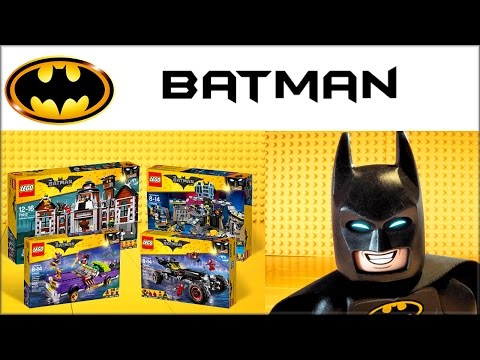 Лего Фильм: Бэтмен - Аркхем, Бэтпещера наборы LEGO Batman Movie 2017
