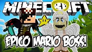 ÉPICO MARIO BOSS! - Minecraft (NOVO)