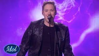 Kristian rører med «Purple Rain» av Prince | Idol Norge 2018