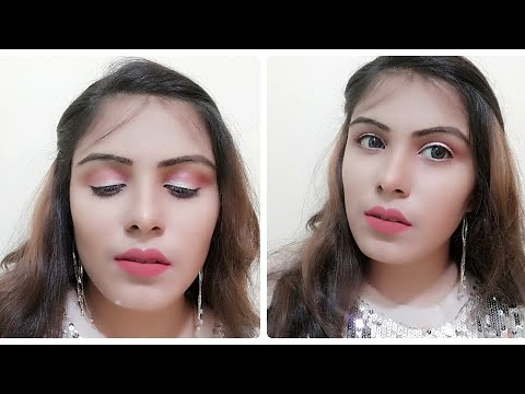 guess which makeup look?soft dewy makeup|glowy makeup kaise kare|makeup in hindi