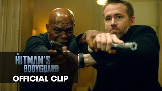 "The Hitman's Bodyguard (2017) Official Clip ""Safe House"" – Ryan Reynolds, Samuel L. Jackson"