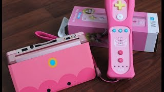 Princess Peach Pink Wii Remote Unboxing!