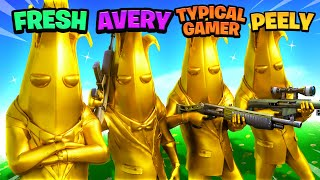 FULL GOLD BANANA SQUAD