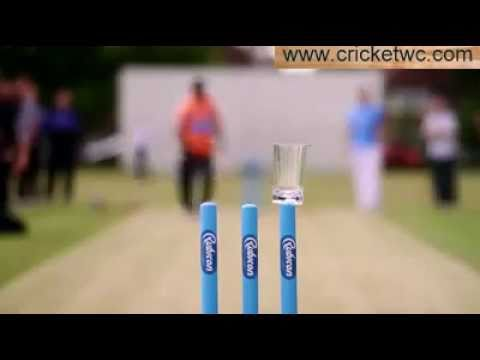 Muttiah Muralitharan vs Graham Swann Coin hitting Challenge MUST SEE!!