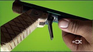 Pistola casera para ganaderos prototipo