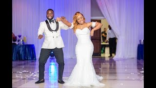Our Wedding Video!!! Best Day Ever! It was Lit!   Life With T&B