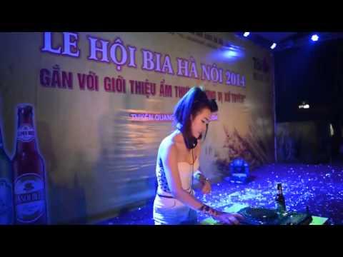 DJ Trang Moon Live Mới Nhất 2015 - tại Lễ hội bia
