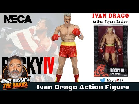 Ivan Drago Action Figure Review - NECA Toys Rocky 4