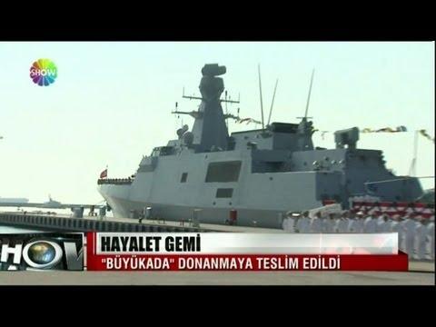 2. MILGEM TCG Büyükada (F-512) Suya indi - Ada-Class Corvette launched