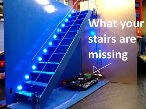 Automatic Stair Led Lighting Demonstration Youtube