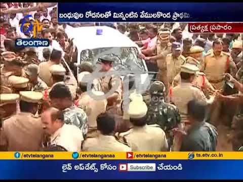 15 Dead in Tractor Accident | Relatives Protest for Ex Gratia at Vemulakonda | Yadadri