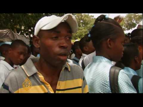 Haiti capital still in ruins