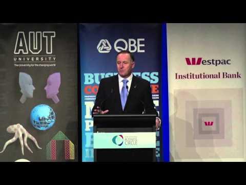 TTBC Post Budget Address 2014 JOHN KEY