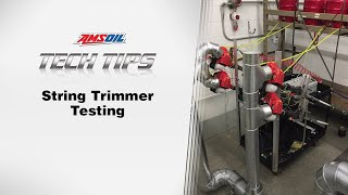 AMSOIL Tech Tips: String Trimmer Testing