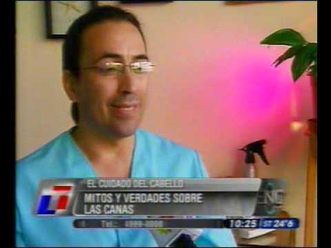 Tricólogo Miguel Cisterna | TN Ciencia | Cabello y Salud ®