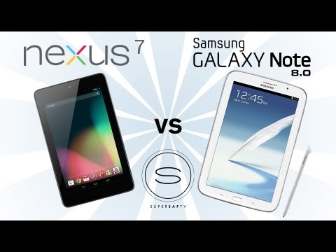 Samsung Galaxy Note 8.0 vs Nexus 7
