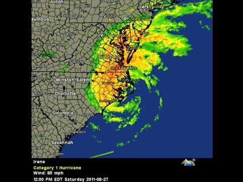 Hurricane Irene EYE OF THE STORM *Video Response*