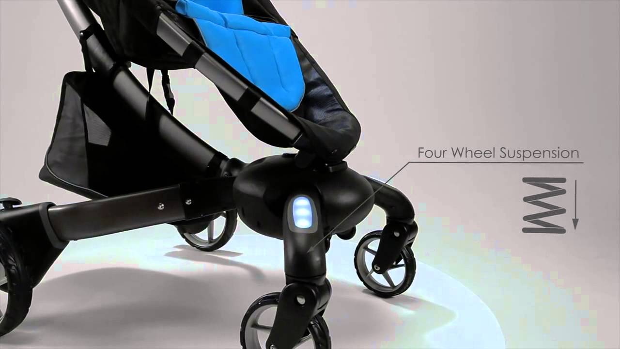 elektrischer kinderwagen youtube. Black Bedroom Furniture Sets. Home Design Ideas