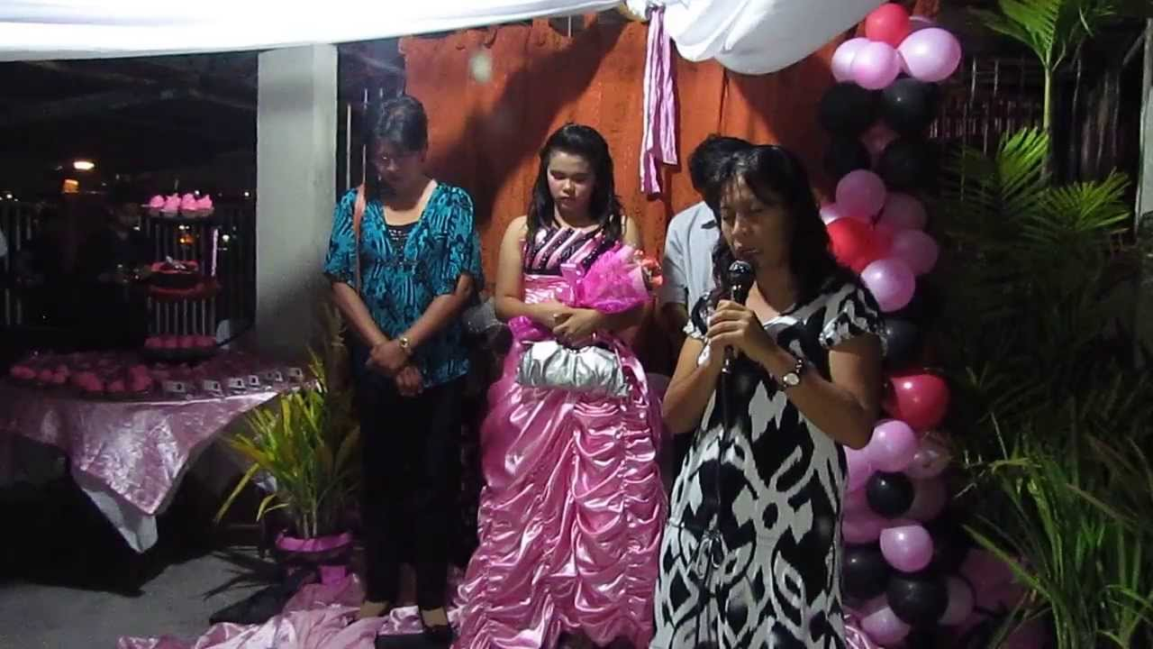 04.21.13 - Opening Prayer - Abby Dianne Ordaniza 18th Birthday ...