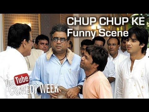 Chup Chup Ke | Funny Hospital Scene | Rajpal Yadav - Paresh Rawal video