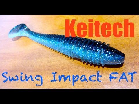 Keitech Swing Impact Fat Review + Underwater Footage