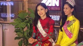 Hoa Hậu 2018 Trần Tiểu Vy nói gì trước xôn xao việc lộ bảng điểm thấp của mình