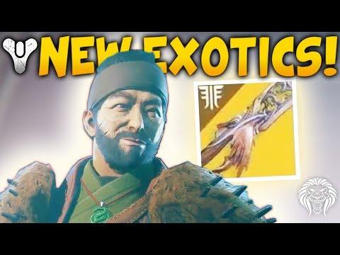 Destiny 2: NEW EXOTICS & HUGE RAID SECRET! Fallen Vendor, Random Rolls, Prison Pirates & Reef Patrol thumbnail