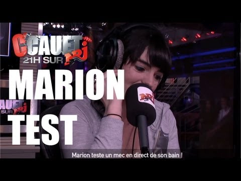 Marion teste un mec en direct de son bain ! - C'Cauet sur NRJ