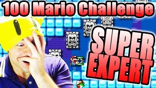 MENTAL BREAKDOWN ~ Super Mario Maker [100 MARIO SUPER EXPERT]