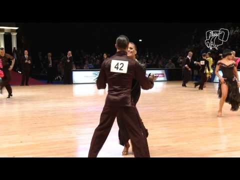 Bazev - Oladottir, ISL | 2013 World Latin R1 J