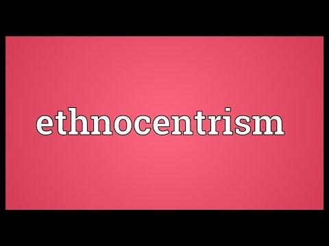 Header of ethnocentrism