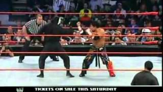 Tajiri vs Shinobi (Al Snow) - WWE Raw 4/12/04