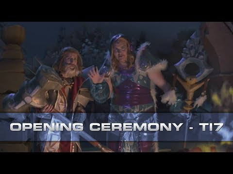 Dota 2 Full Opening Ceremony - The International 2017