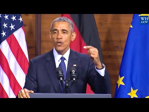 "President Obama: ""The World Needs A Strong Europe"""