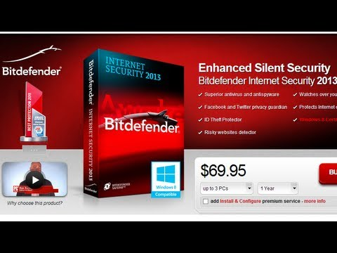 Обзор и тест Bitdefender Internet Security 2013 Final Русская версия