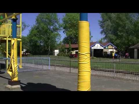 WICKSTEED PARK KETTERING NORTHANTS. THE ATTRACTIONS  2010