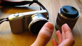 Sony NEX 3 with 18-55MM & 16MM