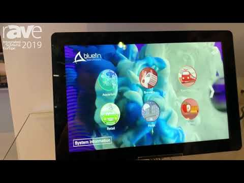 ISE 2019: Syscomtec Shows Panel PCs With Built-In Brightsign Player for Retail or Hospitality Usage